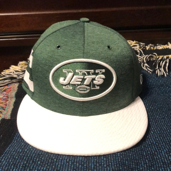 ca187c30 NY Jets 2018 Home Sideline SnapBack hat